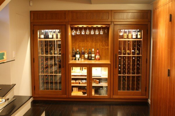 Custom Liquor Cabinet Home Furniture Design