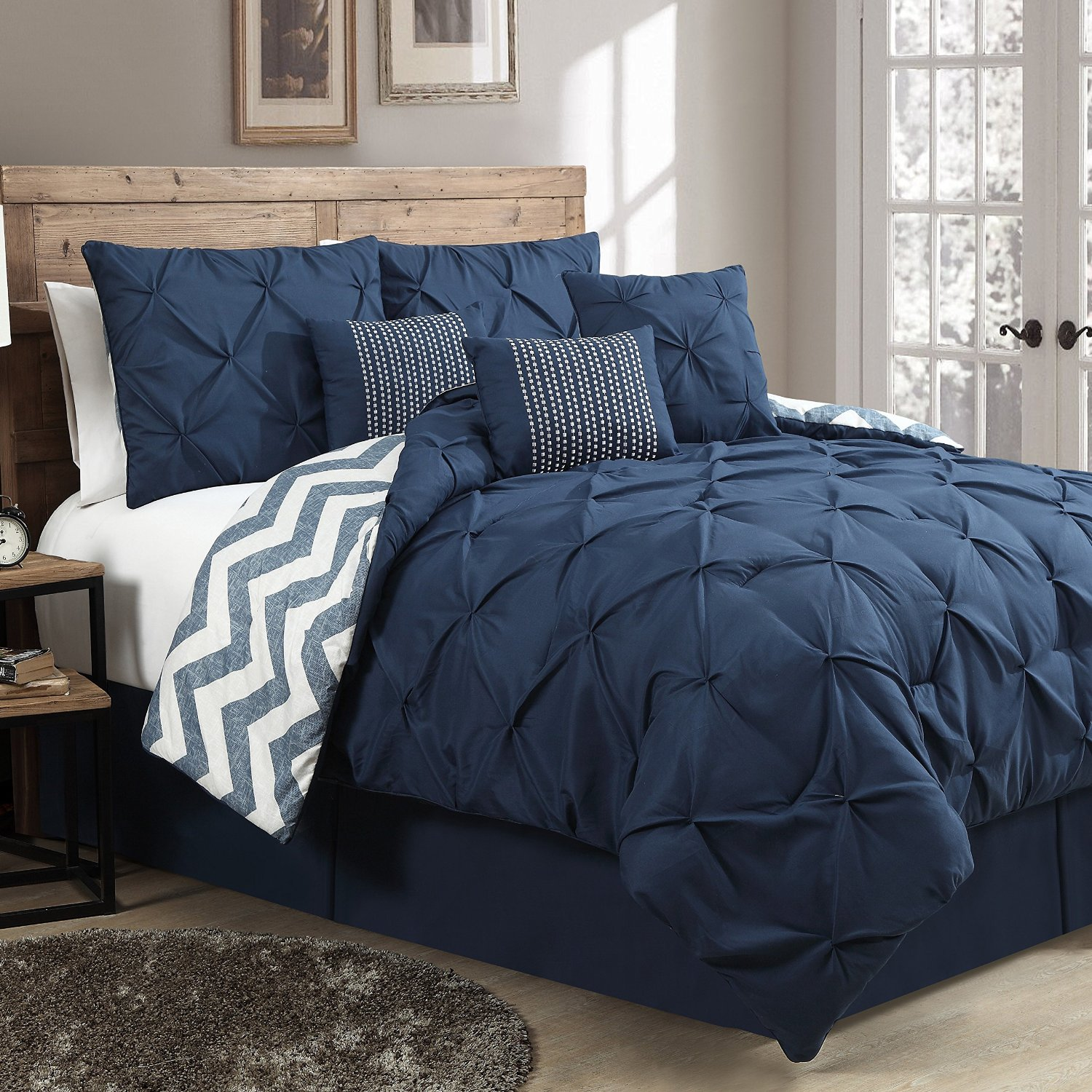 A great, high-quality designer comforter can go a long way. Sleeping on a bed with a soft, luxurious comforter could be the difference between a good night's sleep and a night spent tossing and turning.