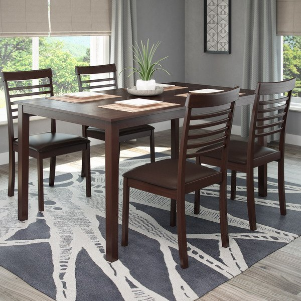 Dining Room Sets Wood: Dark Wood Dining Room Set