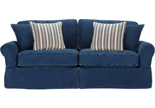 denim sofa slipcover