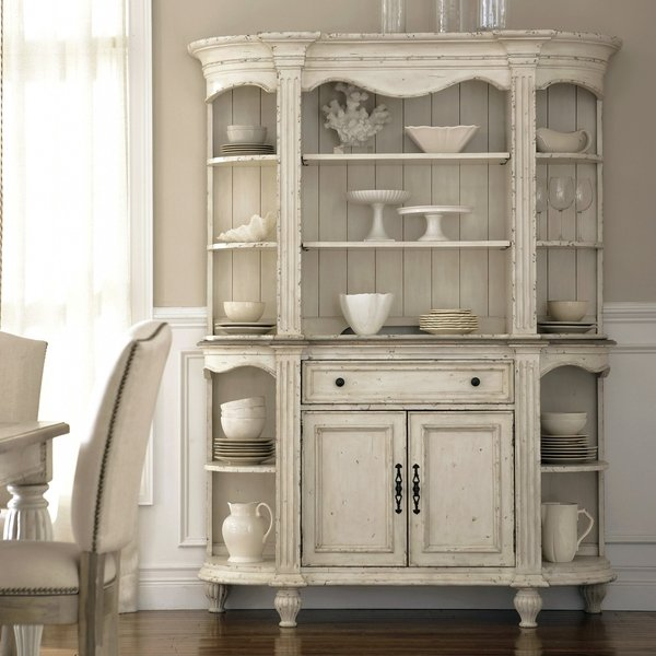 Buffet With Glass Door Hutch