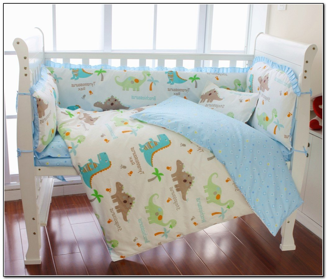 Dinosaur Crib Bedding Set Home Furniture Design