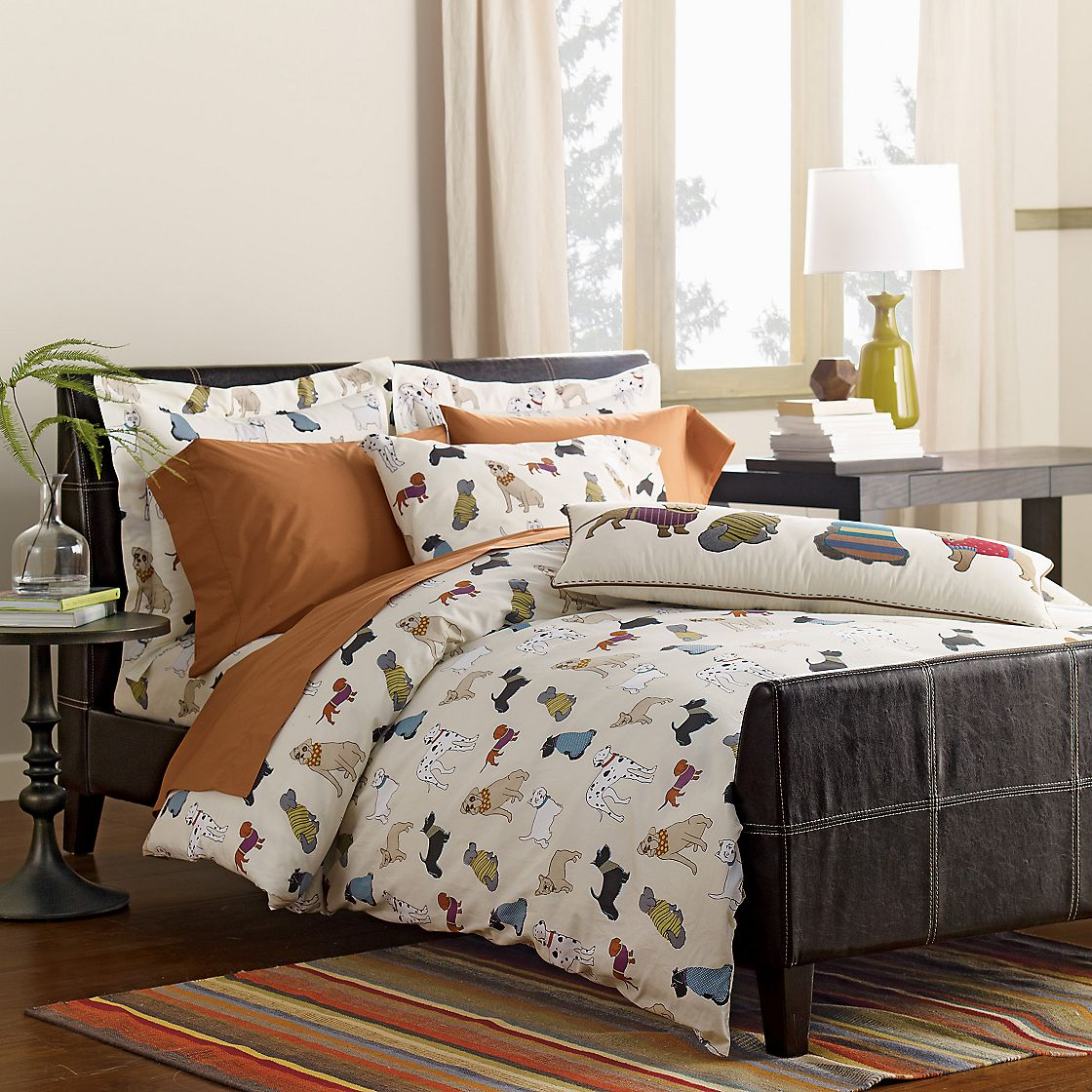 Dog bedding sets home furniture design for Dog themed bedroom ideas