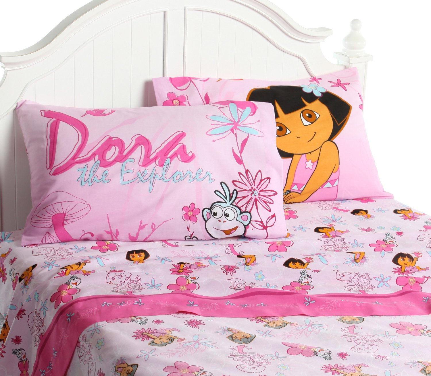 dora the explorer toddler bedding set home furniture design