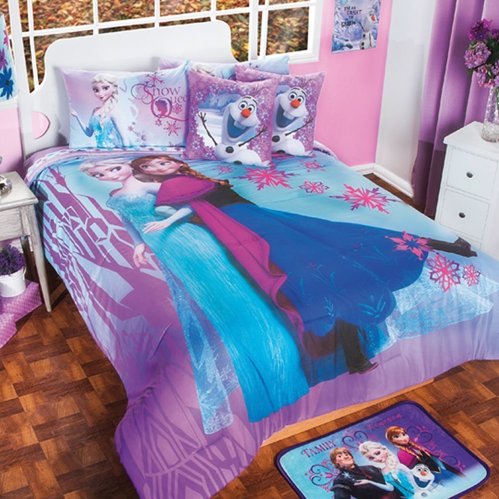 Frozen full size bedding set home furniture design for Full size bedroom sets