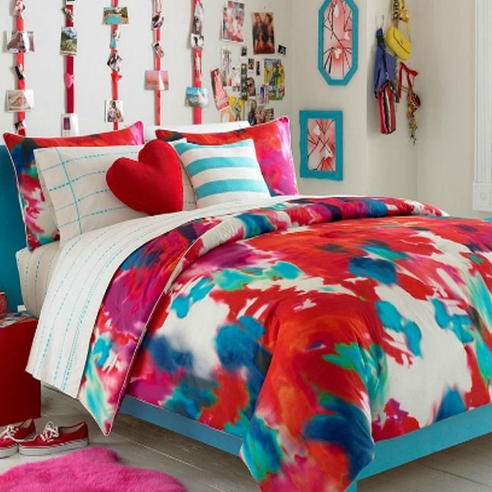 Girls full size bedding sets home furniture design for Home designs comforter