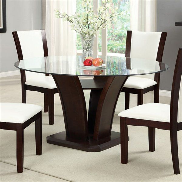glass top dining room sets home furniture design
