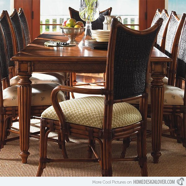 Large dining room sets home furniture design for Large dining room design