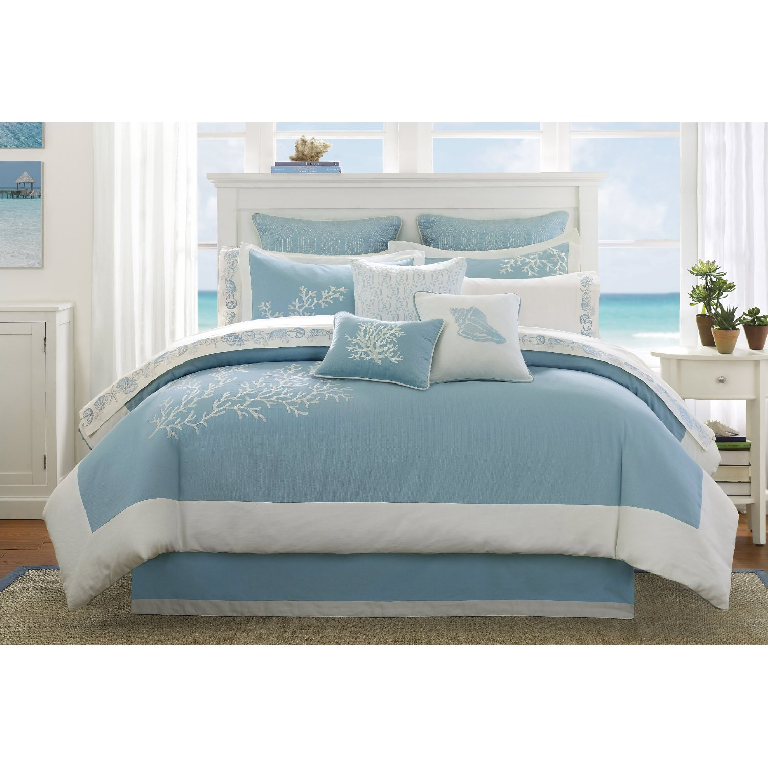 Light blue bedding sets home furniture design for Home decorating company bedding