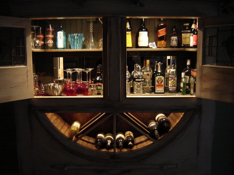 Liquor Storage Cabinet Home Furniture Design