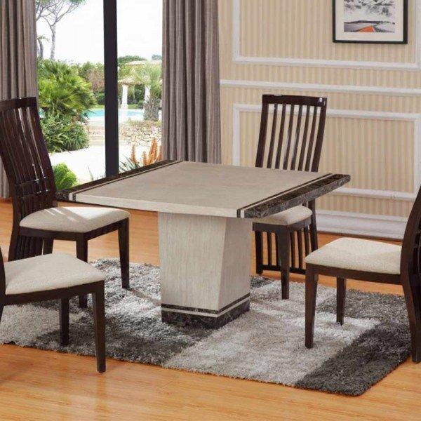 marble dining room sets home furniture design. Black Bedroom Furniture Sets. Home Design Ideas