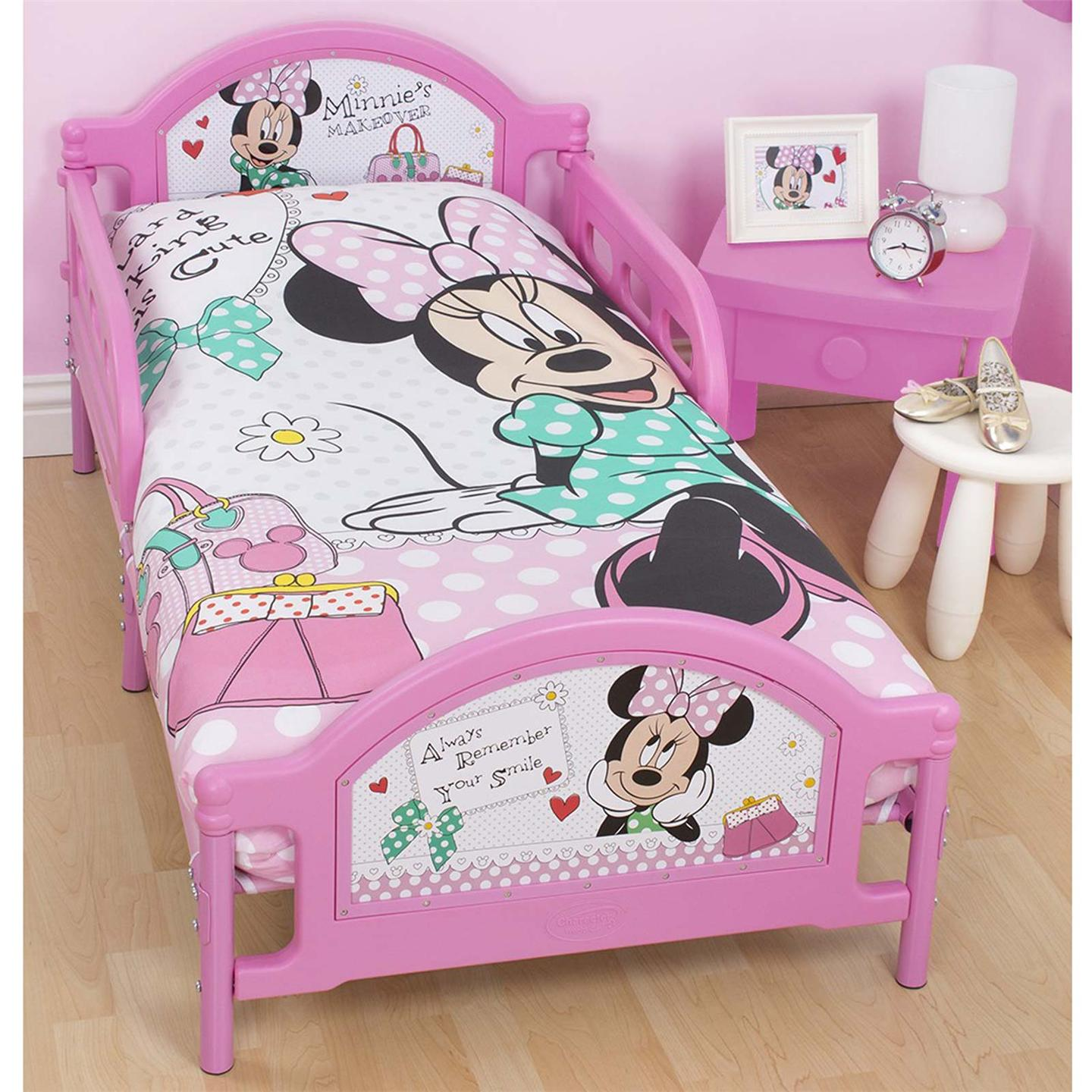 Minnie Mouse Toddler Bedroom Set: Minnie Toddler Bed Set