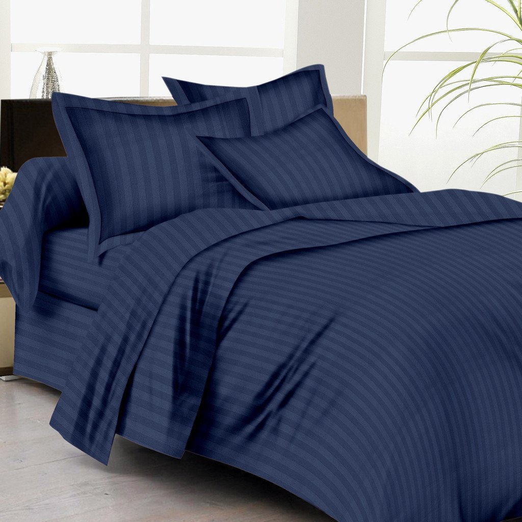 Navy Blue Bed Set Home Furniture Design