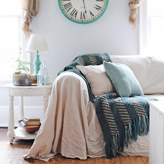 No Sew Slipcover Home Furniture Design