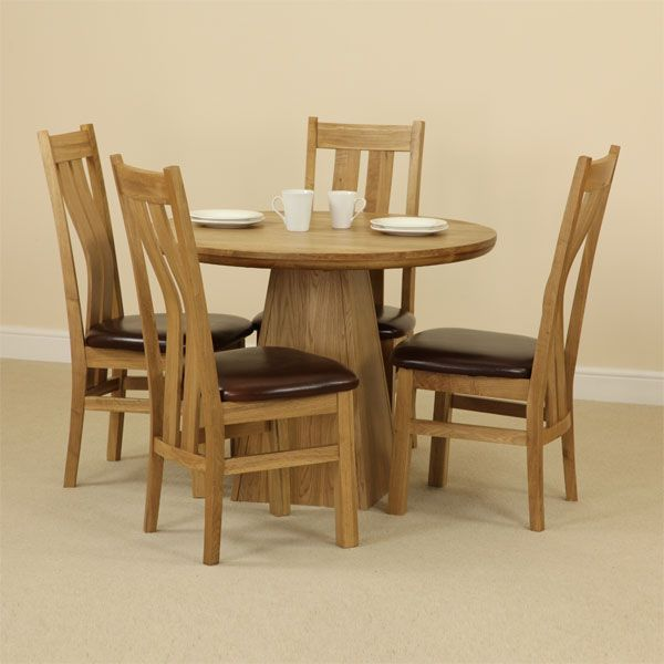 oak dining room sets home furniture design. Black Bedroom Furniture Sets. Home Design Ideas