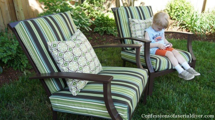 Outdoor Cushion Slipcovers Home Furniture Design