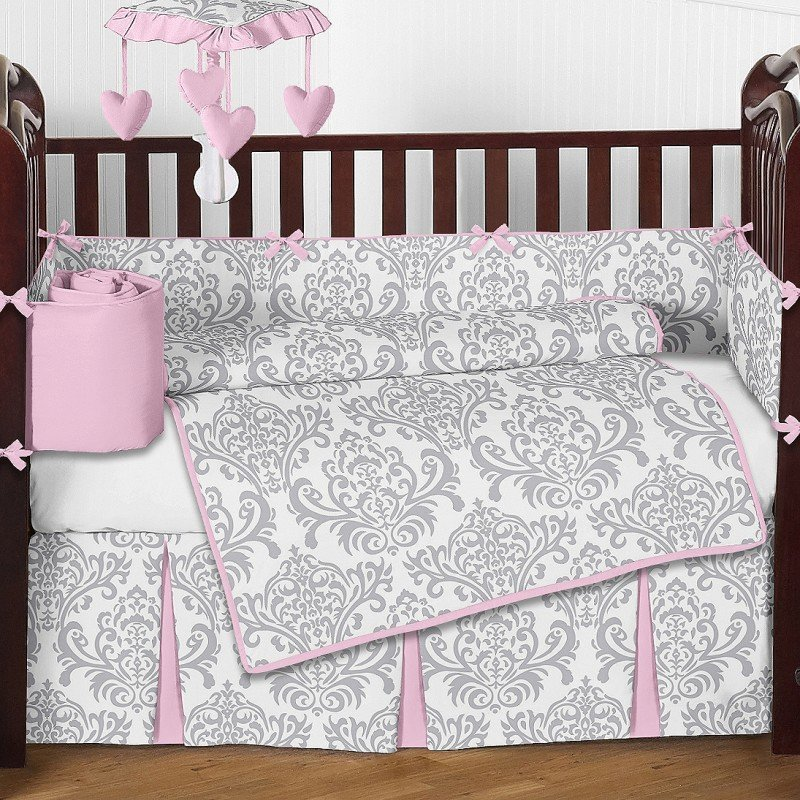 The captivating pic is segment of pink bedding sets acting as a lady