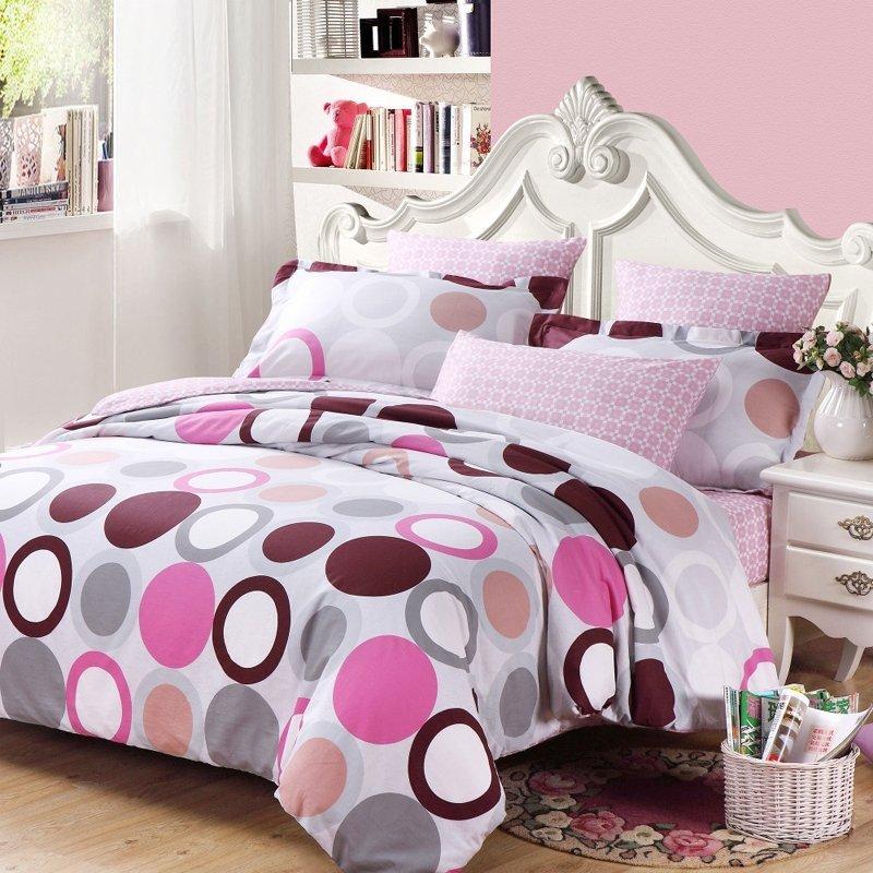 Pink Bed Set Full Home Furniture Design