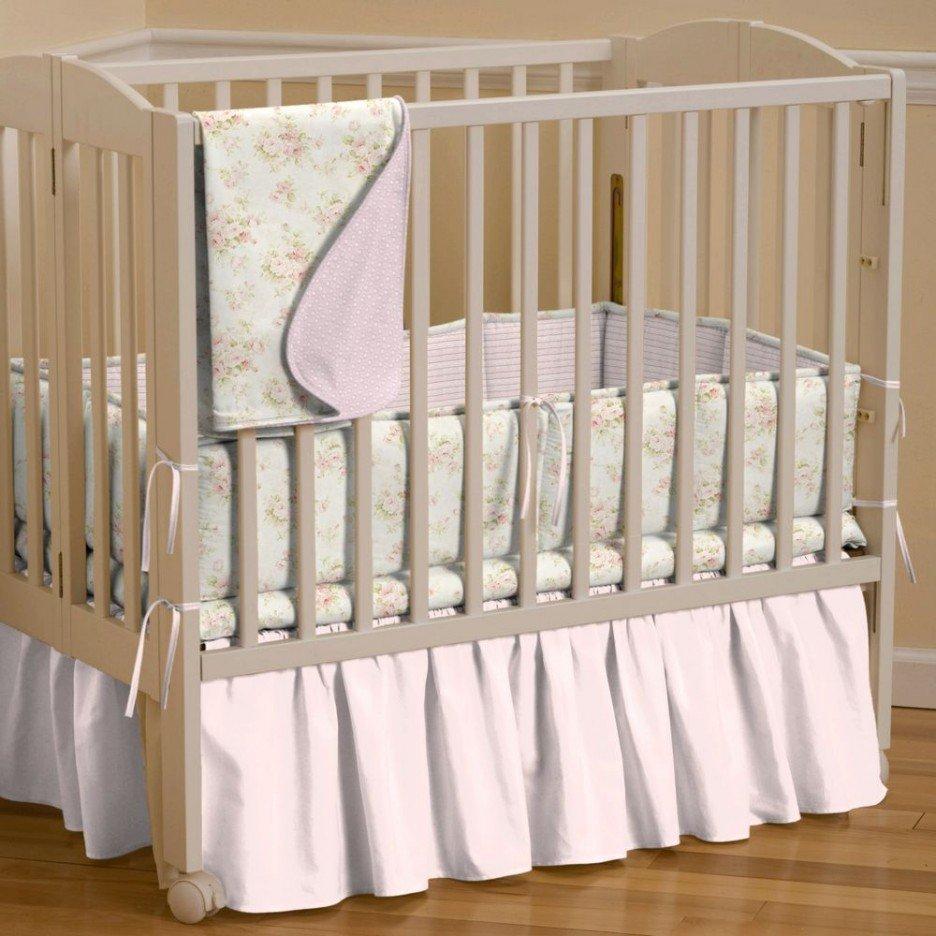 portable crib bedding sets home furniture design. Black Bedroom Furniture Sets. Home Design Ideas