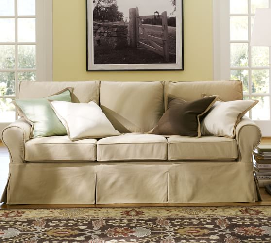 Pottery Barn Slipcovered Sofa Home Furniture Design