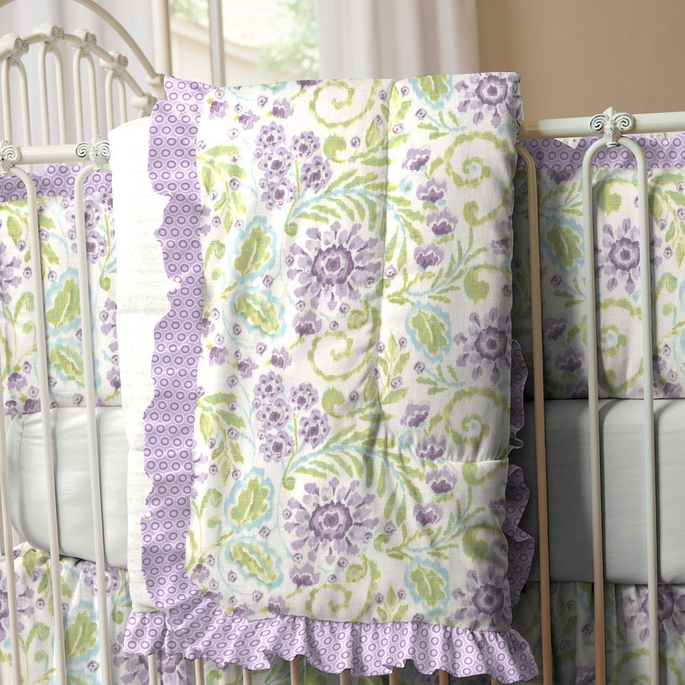 Purple and green bedding sets home furniture design - Green and purple comforter ...