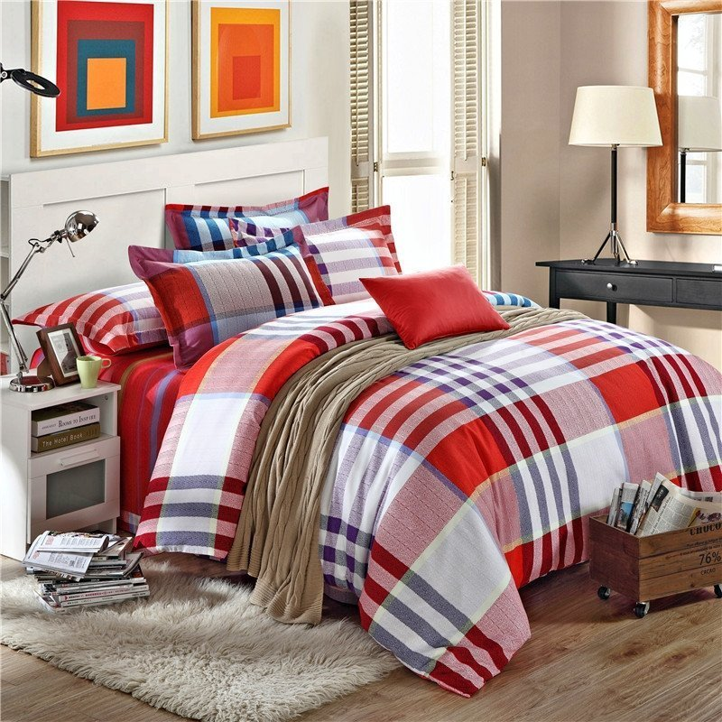 Appealing Red Black Bedroom Furniture