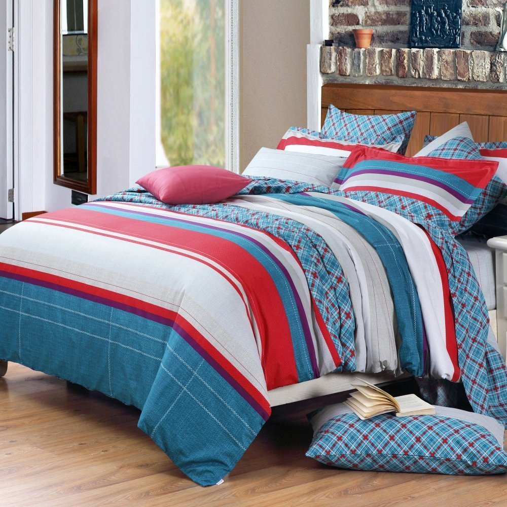 Red White And Blue Bedding Sets Home Furniture Design