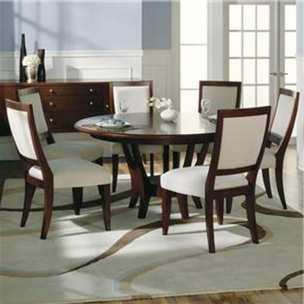 Round Dining Room Table Sets For 6 Moreover Luxury Home Wine Cellar