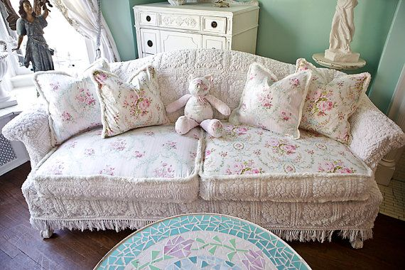 Shabby Chic Slipcovers Home Furniture Design
