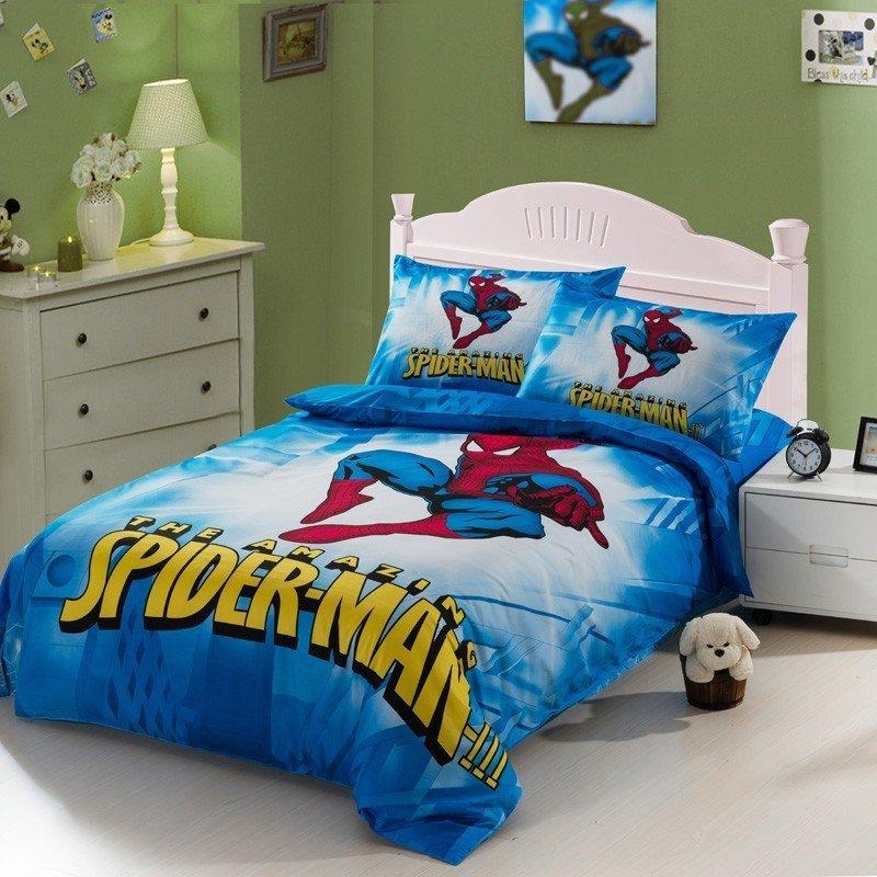 Spiderman Full Size Bedding Set Home Furniture Design