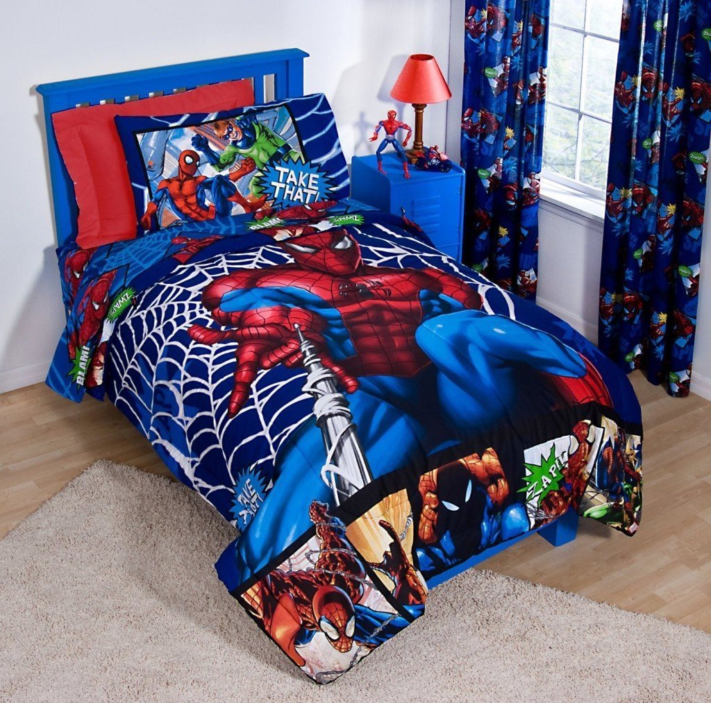 Spiderman Toddler Bed Set Home Furniture Design