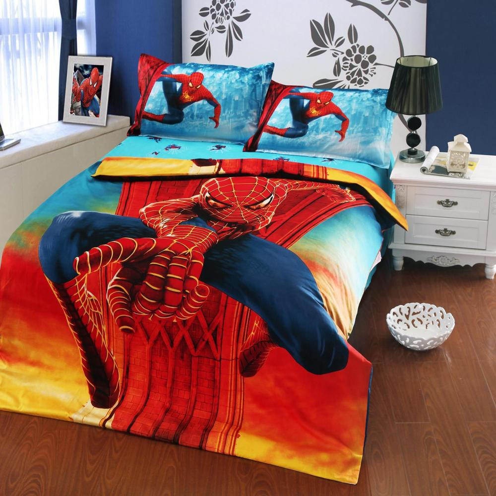 Spider Mans Bedroom : Spiderman Twin Bed Set - Home Furniture Design