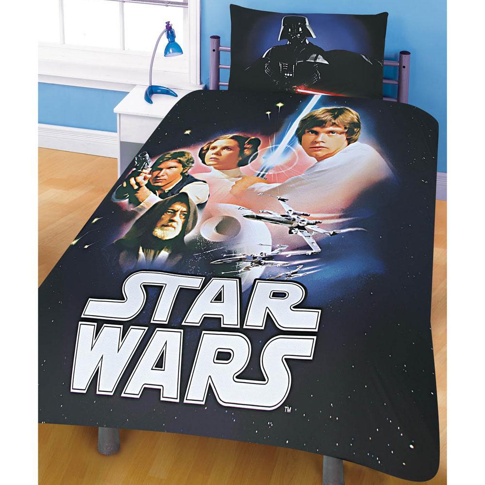 star wars twin bedding set home furniture design. Black Bedroom Furniture Sets. Home Design Ideas
