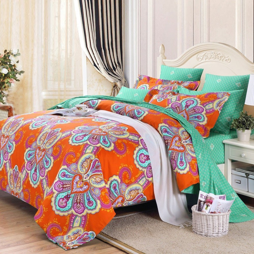 Turquoise And White Bedding Sets Home Furniture Design