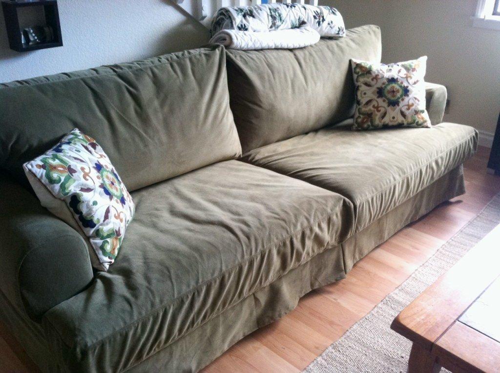 Velvet Slipcovers Home Furniture Design