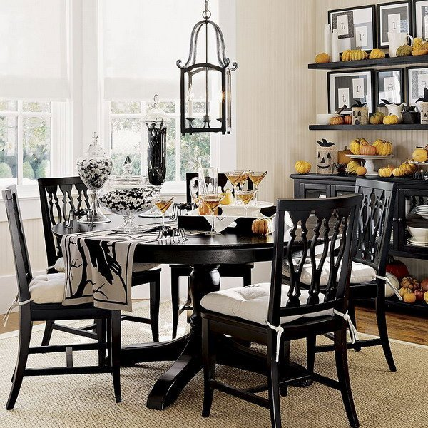 White dining room set home furniture design Dining set design ideas