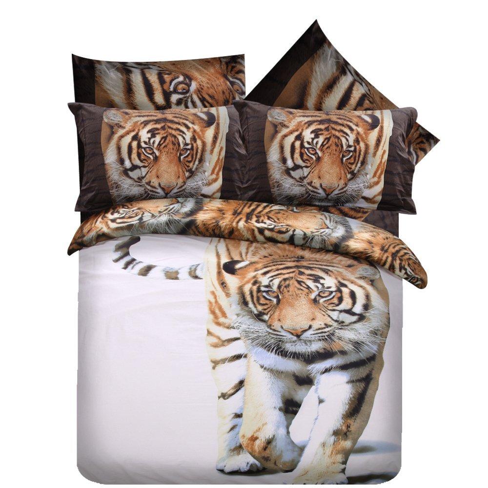 White Tiger Bedding Sets Home Furniture Design