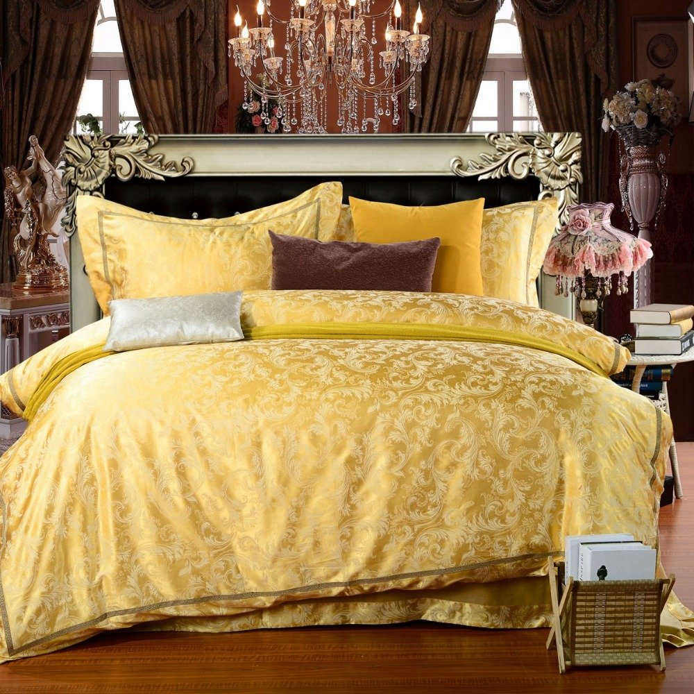 Yellow Bedding Sets Queen Home Furniture Design