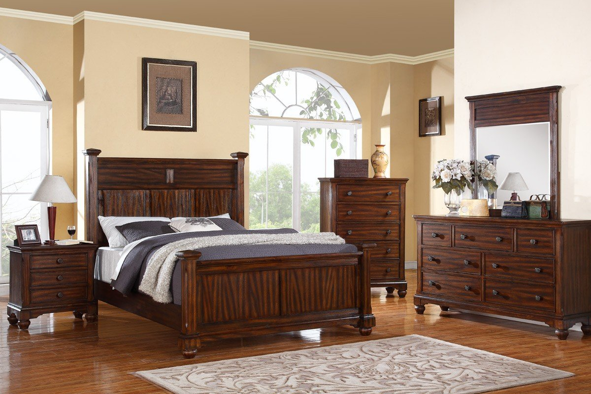 5 piece king bedroom set home furniture design for King bedroom furniture