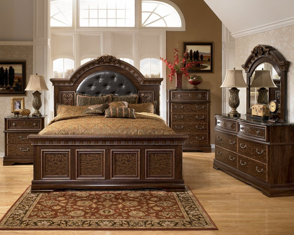 Ashley bedroom set prices home furniture design for Ashley bedroom furniture prices