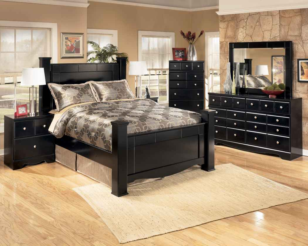 Ashley shay bedroom set home furniture design for Bed and bedroom furniture sets