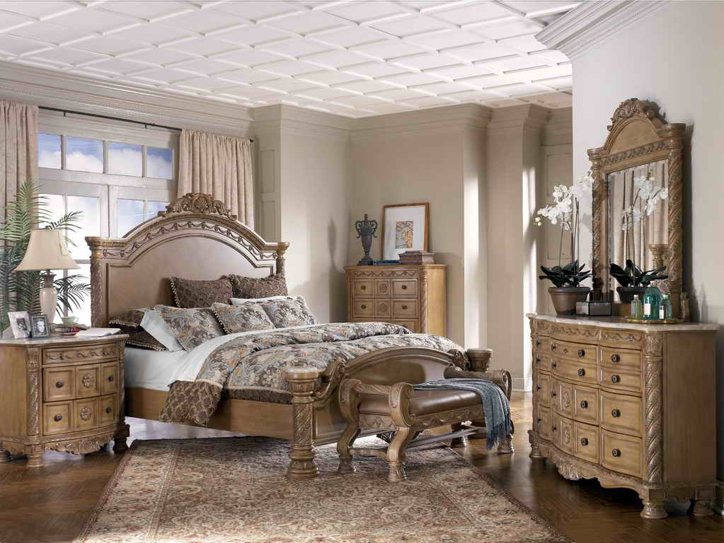 Bedroom sets at ashley furniture home furniture design for Home furniture by design