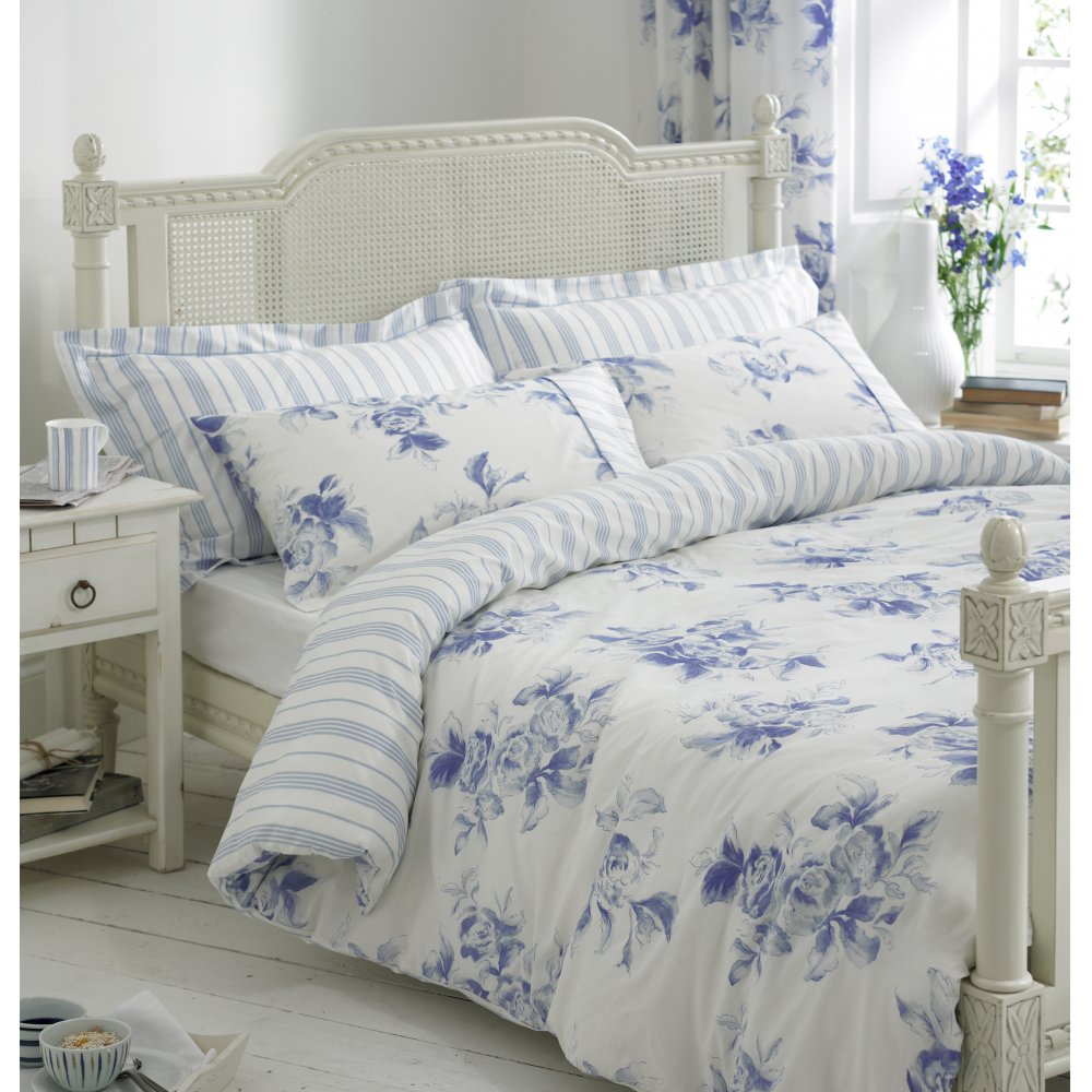 Blue Floral Duvet Cover Home Furniture Design