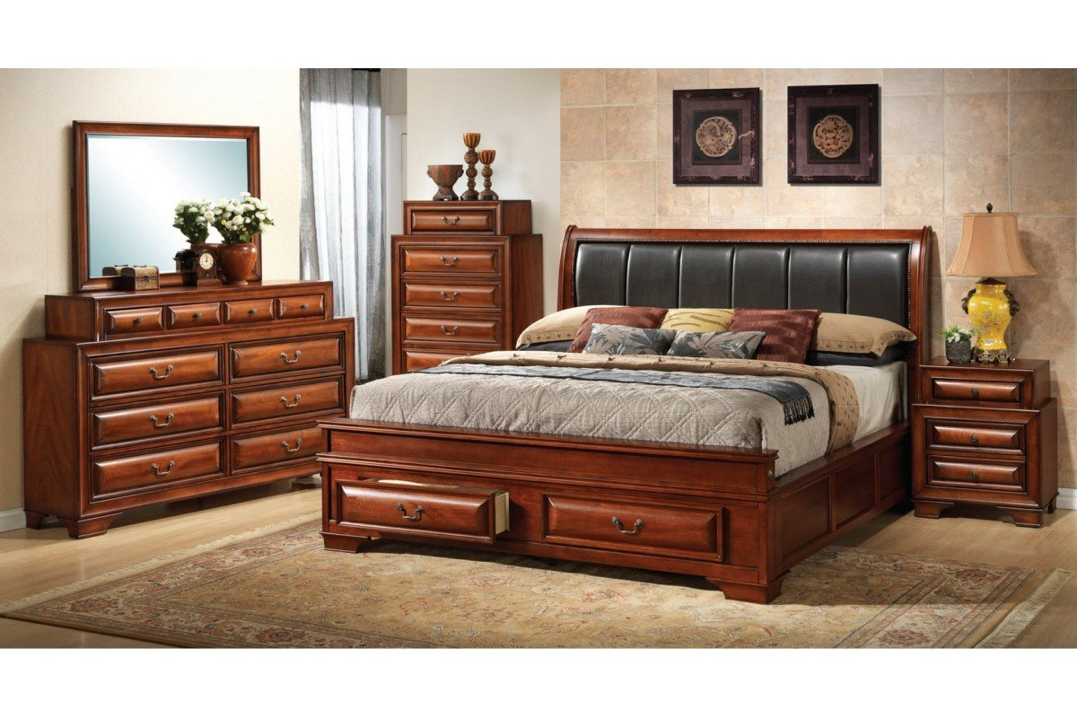 Cheap king size bedroom furniture sets home furniture design for King size bed designs