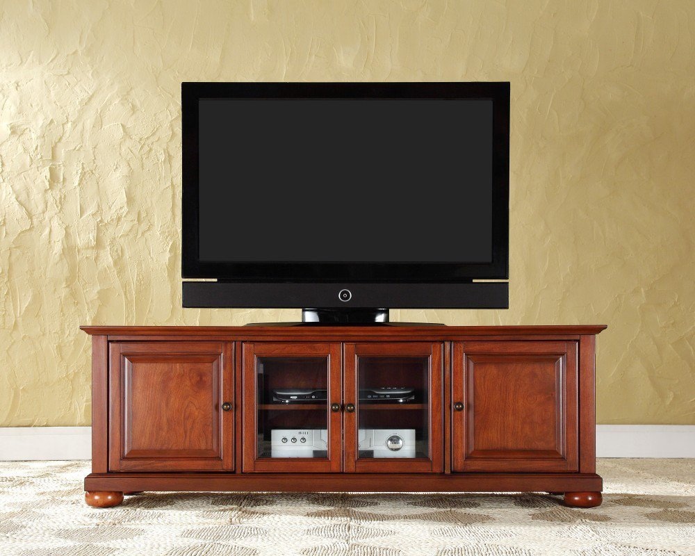 cherry tv cabinet home furniture design. Black Bedroom Furniture Sets. Home Design Ideas