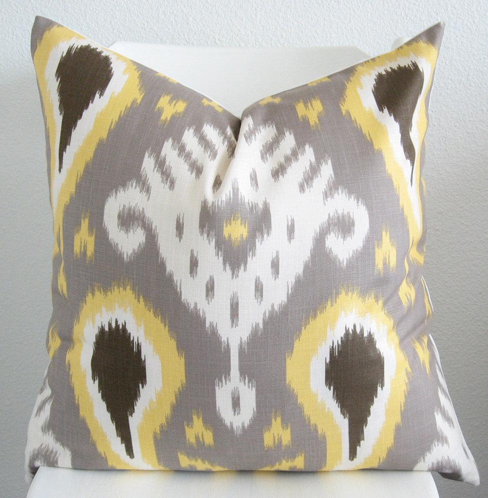 Ikat Throw Pillows Etsy : Etsy Pillow Covers - Home Furniture Design