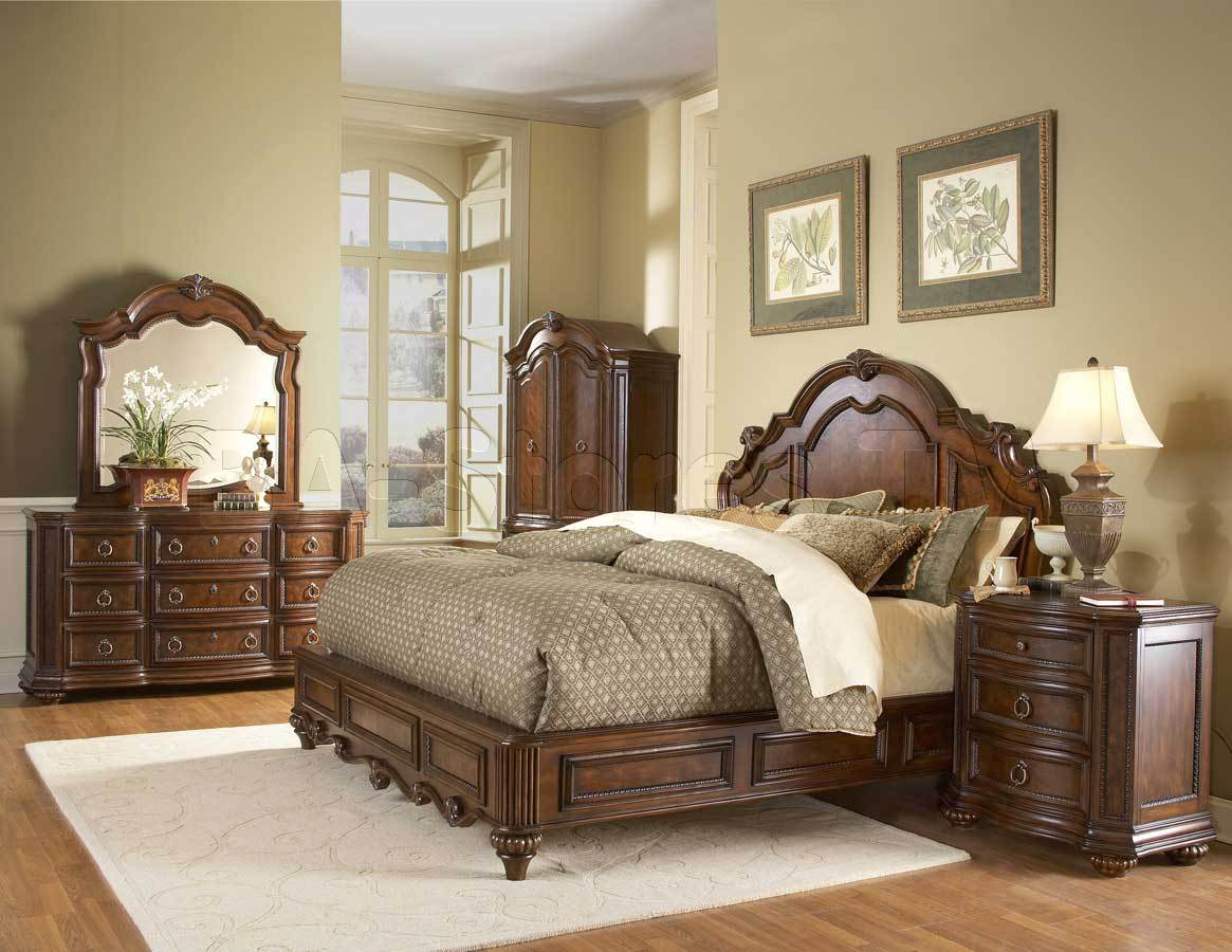 Full size boy bedroom set home furniture design for Bedroom set with bed
