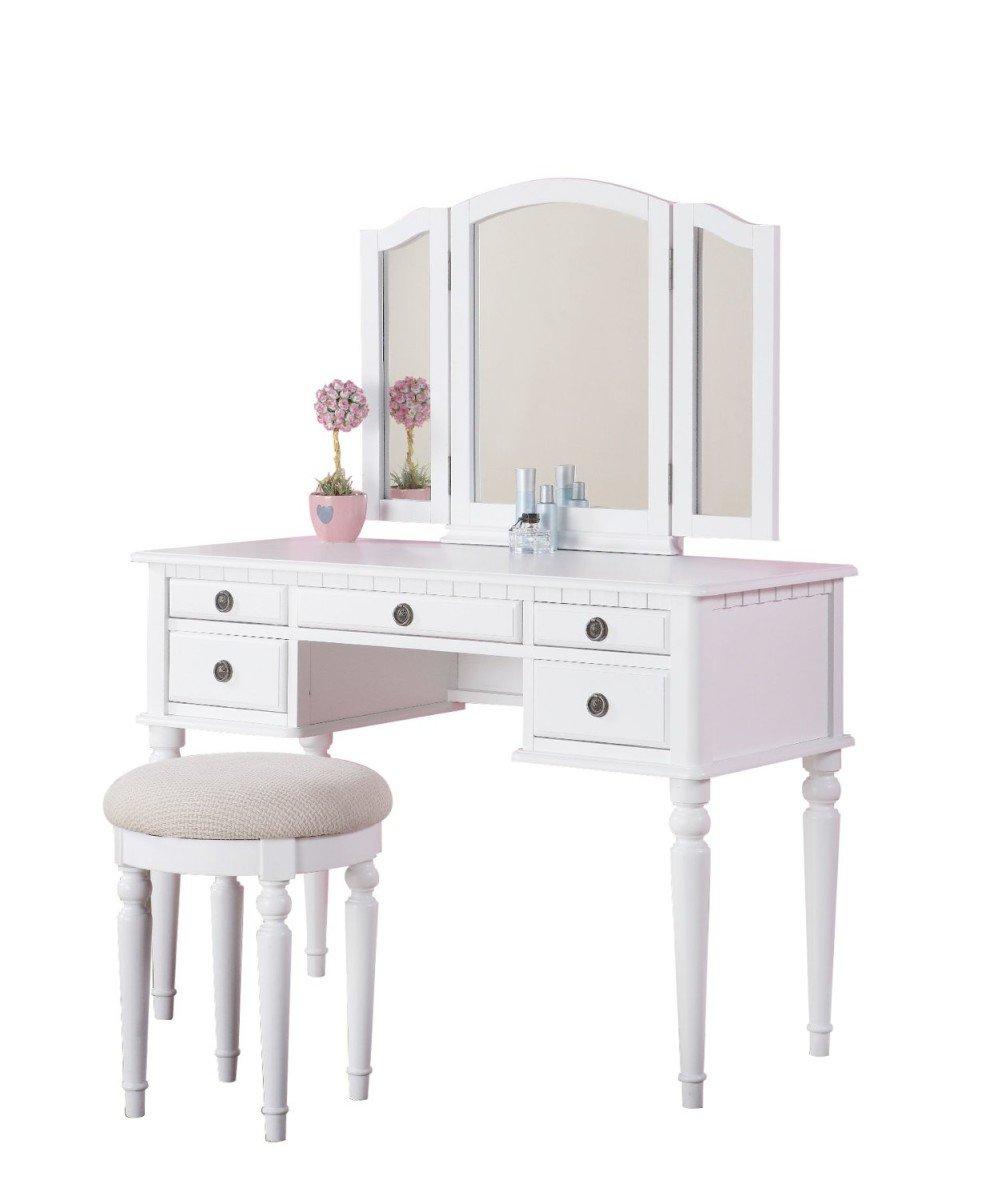 Girls vanity desk home furniture design for Vanity desk