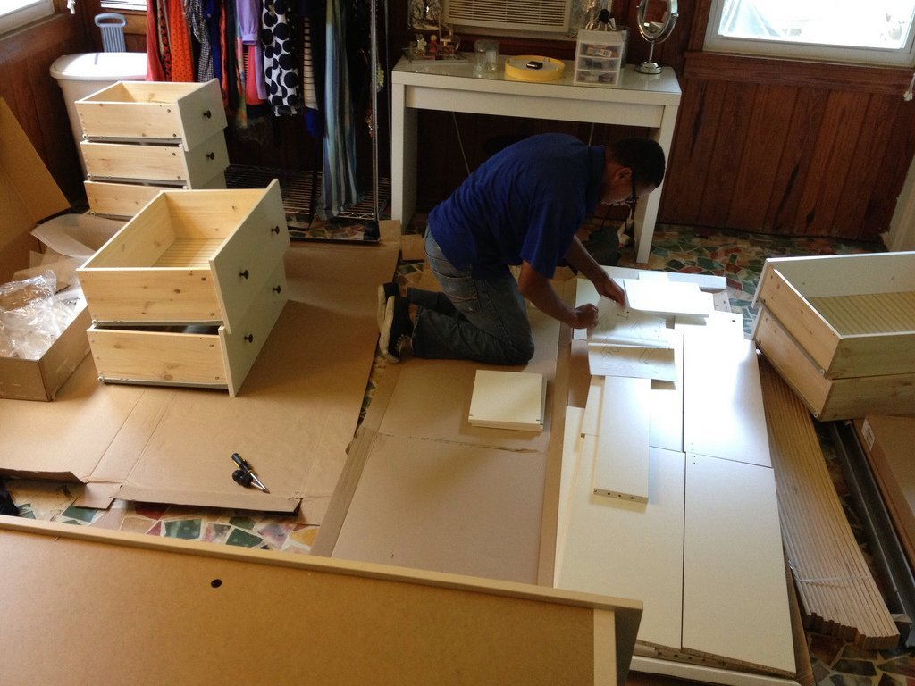 Hemnes 8 drawer dresser assembly home furniture design for Will ikea assemble furniture