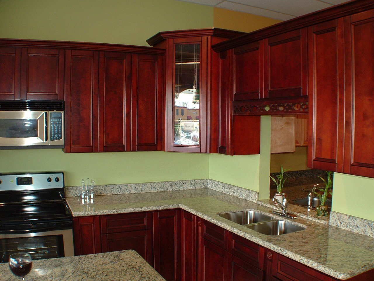 kitchen paint colors with cherry cabi s   home furniture